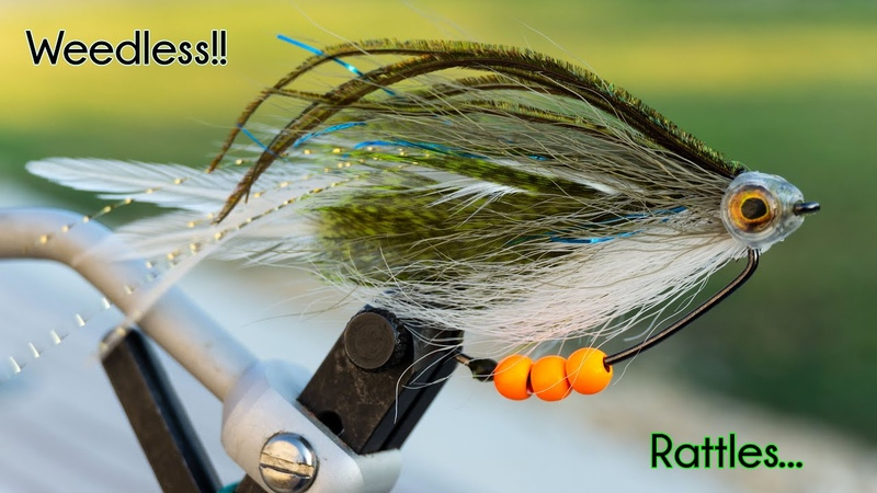 "Belly Banger - It ""RATTLES, it's WEEDLESS - Sunfish Fly Pattern - McFly Angler Fly Tying Tutorials"