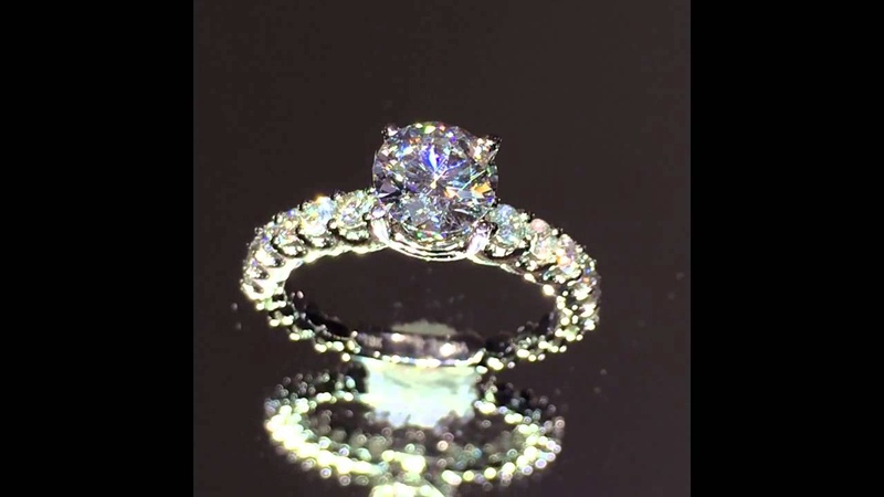 BDR-11860 Engagement Ring Setting for Round Diamond