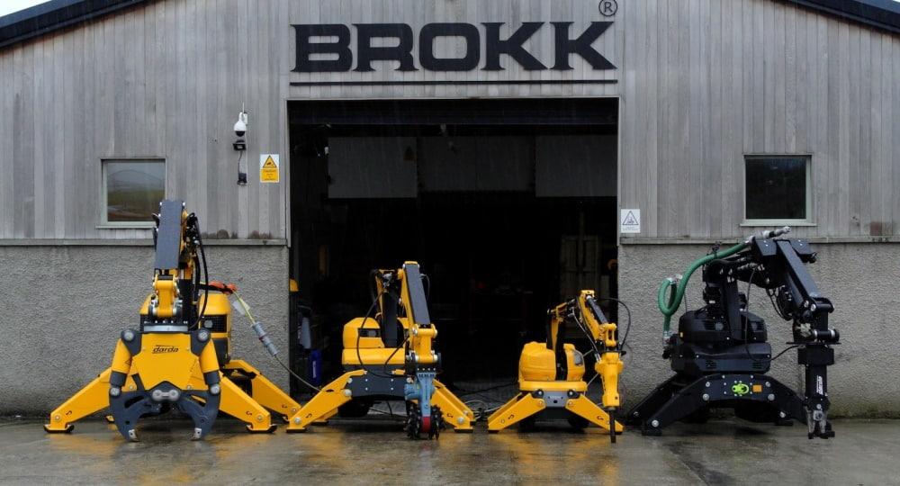 Роботы-манипуляторы Брокк бывают компактных размеров