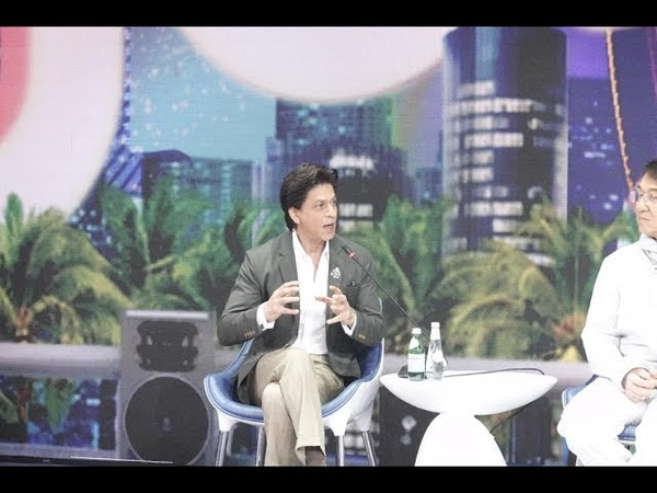 Shah Rukh Khan thanks the Joy Forum 19 for the opportunity to visit Saudi Arabia