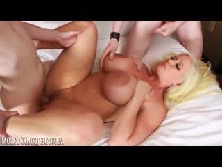 Alura jenson -nervous threesome