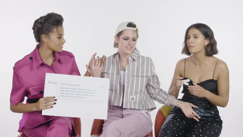 Kristen Stewart Naomi Scott and Ella Balinska Answer the Webs Most Searched Questions WIRED