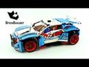 Lego Technic 42077 Rally Car Lego Speed Build