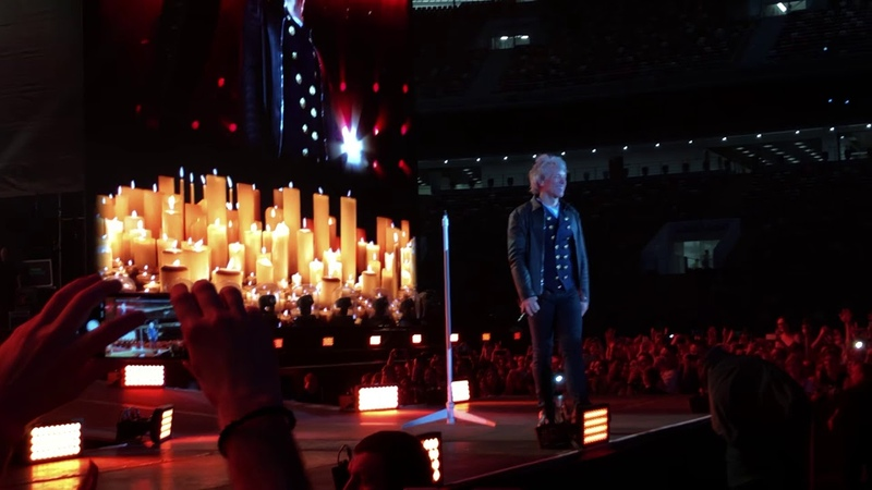 Bon Jovi Bed of roses Moscow 31 05 2019