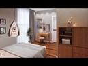 Спальня с собственной ванной