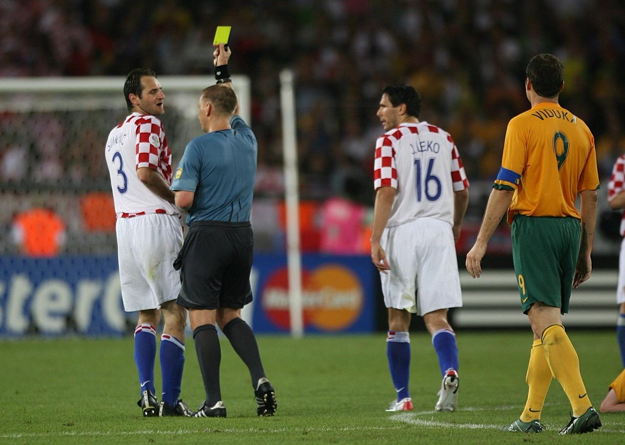 Австралия - Хорватия, Чемпионат мира-2006. Арбитр Грэм Полл