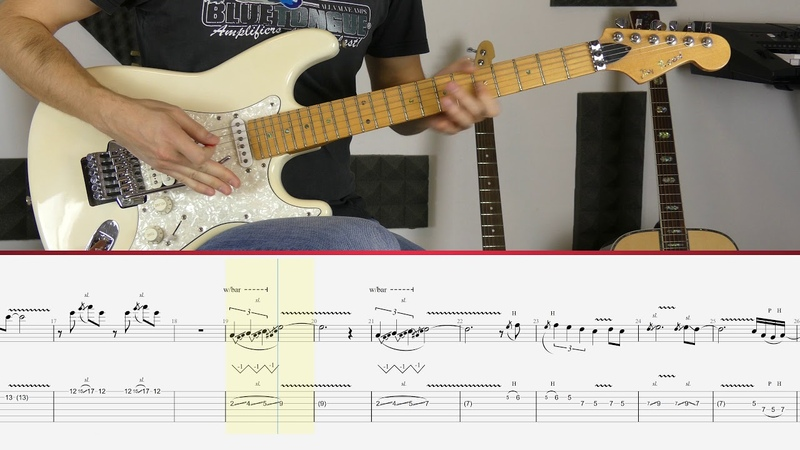 Joe Satriani The Crush Of Love Guitar Tutorial
