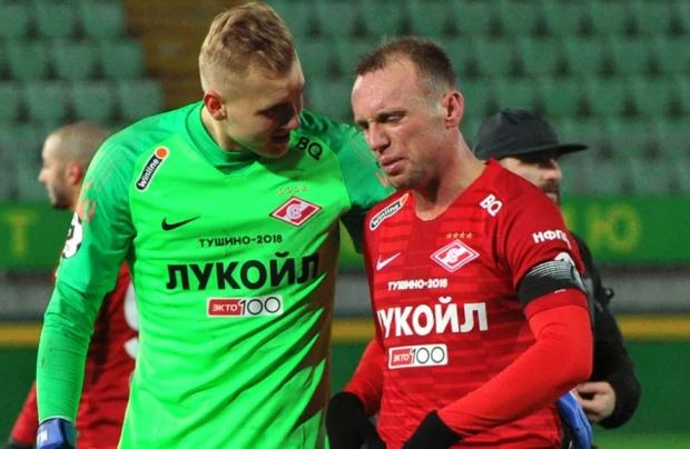 Александр Максименко и Денис Глушаков