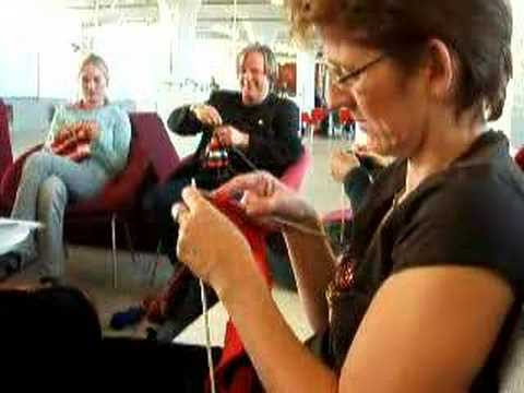 Miriam Tegels the fastest knitter in the world