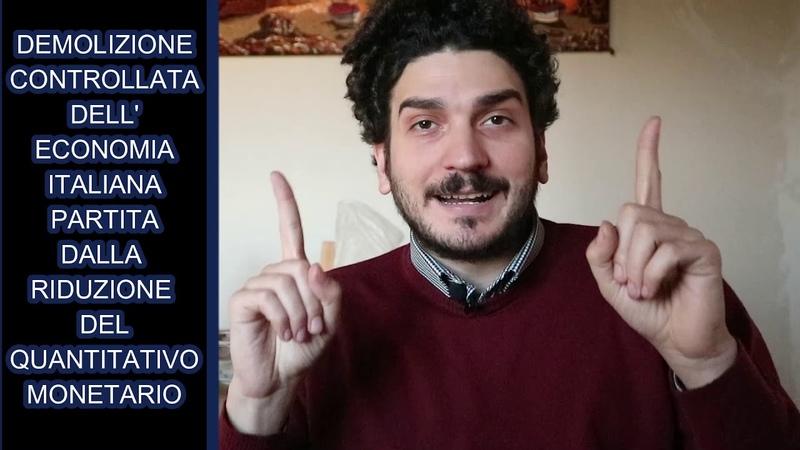 DEMOLIZIONE CONTROLLATA DELL' ECONOMIA ITALIANA Fabiuccio Maggiore
