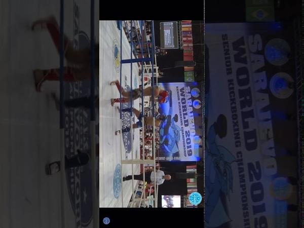 Pavel Shelest vs Nikola Stosic WAKO world championships 2019