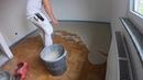 Boden ausgleichen für Vinylboden Ausbruchstellen ausgleichen füllen und nivellieren Parkett abfräsen