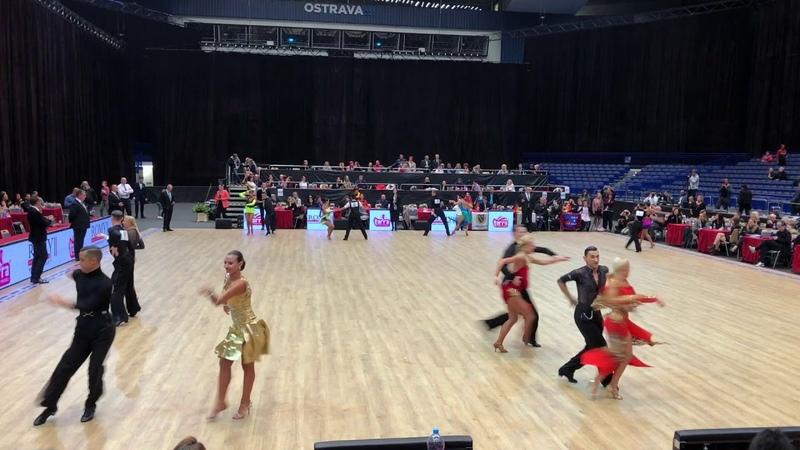 World Championship Senior 1 Latin Ostrava 5 10 2019 2nd round top 48