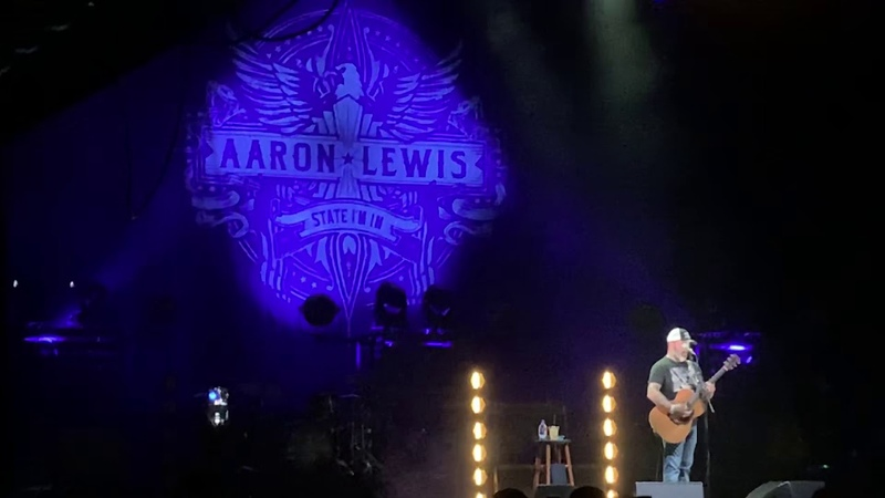 Aaron Lewis - Rooster, Jessie's Girl, Rainbow Connection - Coca-Cola Roxy Atlanta 8/24/19