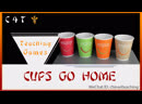 Cups Go Home ESL EFL TEACH YOUNG LEARNERS KIDS ENGLISH GAMES ACTIVITIES CHINA TRAINING CENTER