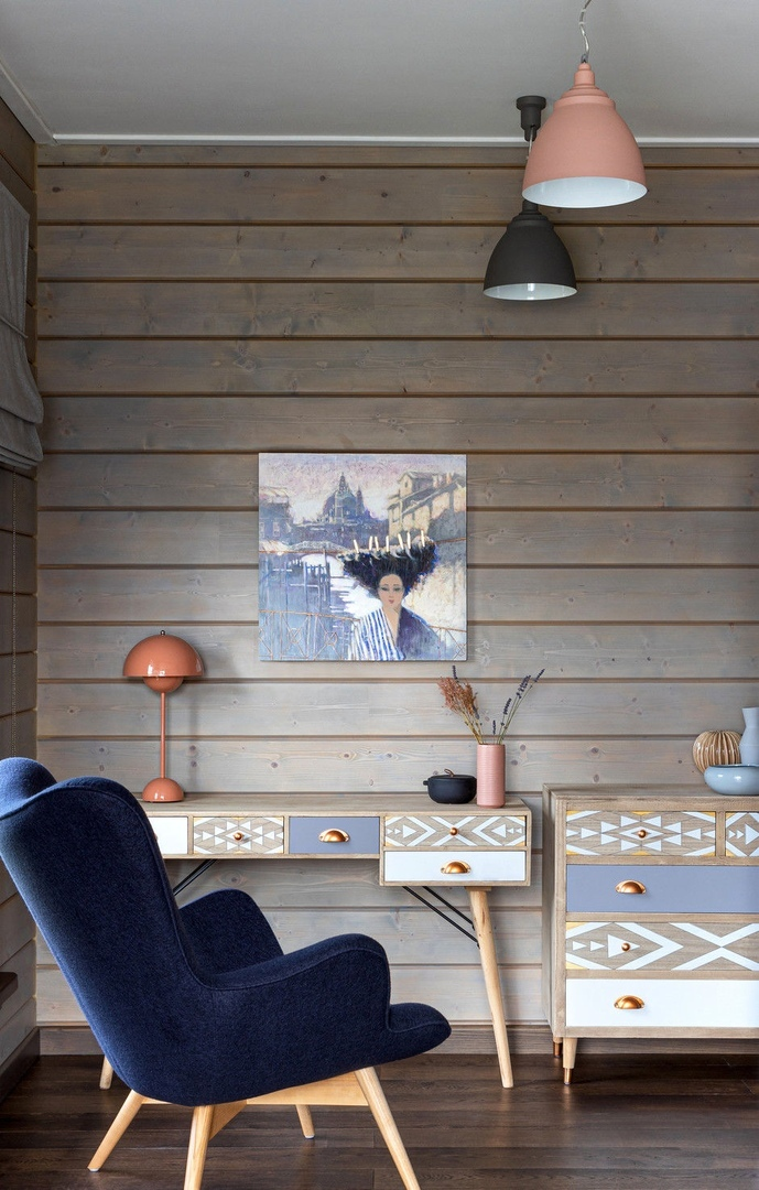 Темный лес: загородный дом в Подмосковье от студии «Точка дизайна» || 02