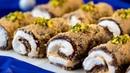 Десерт без выпечки - турецкое пирожное с волшебным вкусом оценят все! |