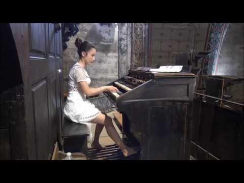 Liszt's Sonata by Lydie Solomon on the organ HD