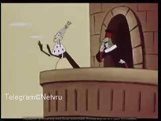 """Отрывок из мультфильма """"Человечка нарисовал я"""""""