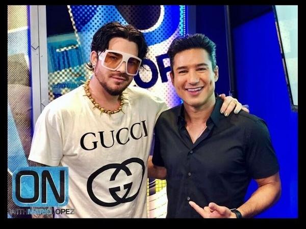 Adam Lambert AUDIO INTERVIEW Talks New Album 'Velvet: Side A', Queen O N W I T H M A R I O