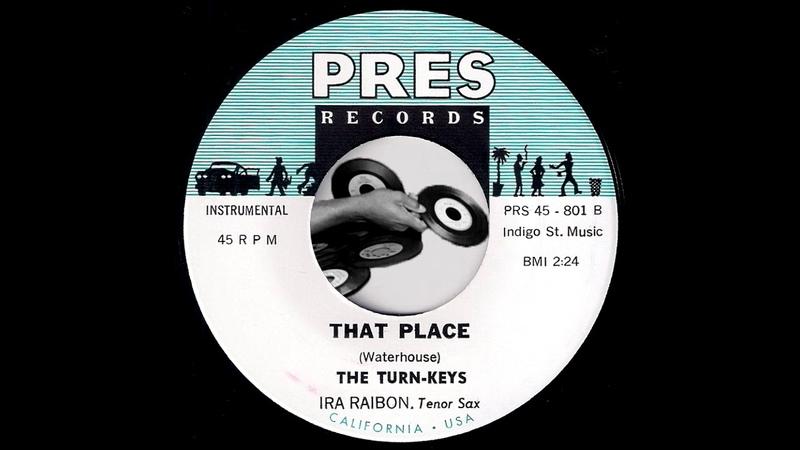 The Turn Keys That Place Pres Records 2010 RnB Popcorn Instrumental 45