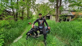 В Чернобыль на мопеде. Доеду ли я до Припяти? Заброшенное село спустя 33 года