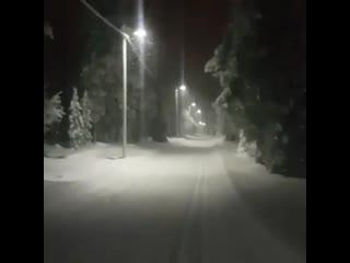Äkäslompolo, lappi, finland