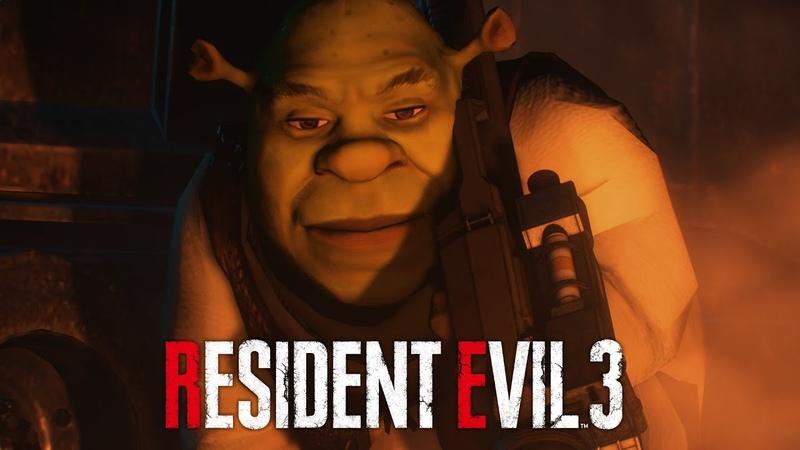 Resident Evil 3 Remake Shrek Over Nemesis