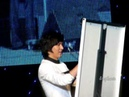 HQMinoz Singapore Fanmeeting drawing his ideal girl 21.12.09