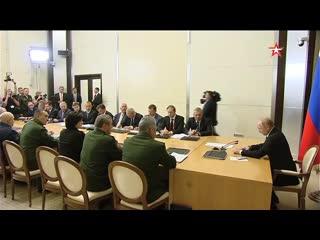 Путин распорядился поставить новую технику в ВКС РФ