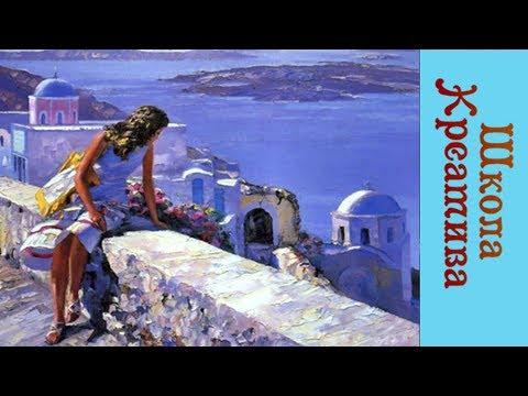Берег мечты (мастихин), Мария Подуева 9.06.17г. с образцом картин