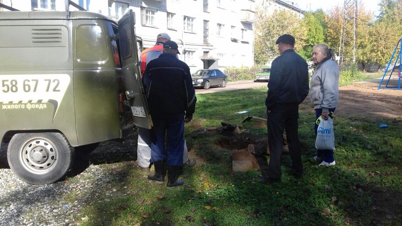 Октябрьский проспект дом 34 ремонт колодца