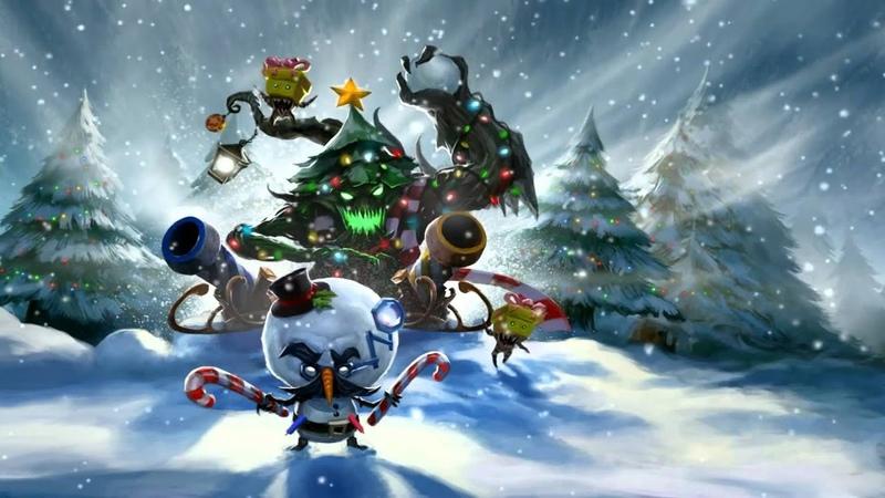 Snowdown Showdown 2011 (Heimerdinger Maokai) League Of Legends Login Screen With Music