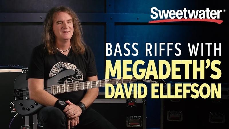 Megadeth Bassist – David Ellefson's Favorite Riffs   Bass Lesson