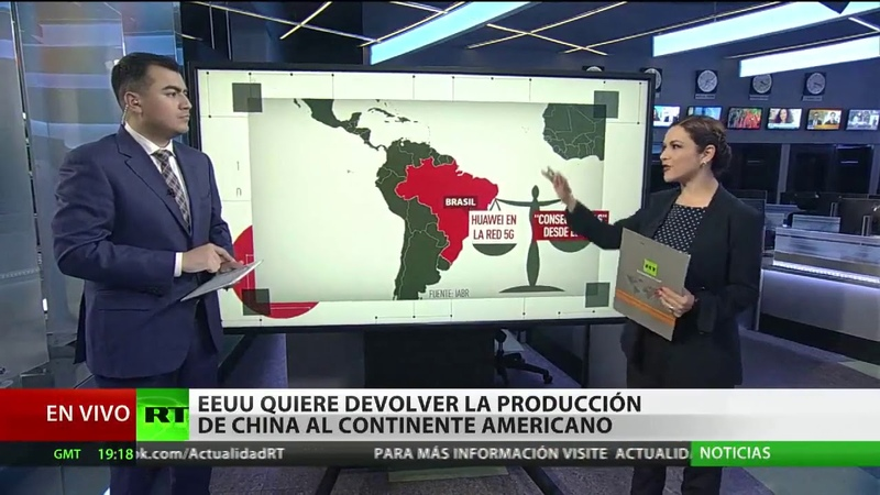Quiere devolver la producción de China al continente americano