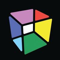 Логотип Объединение молодых художников «КУБ»