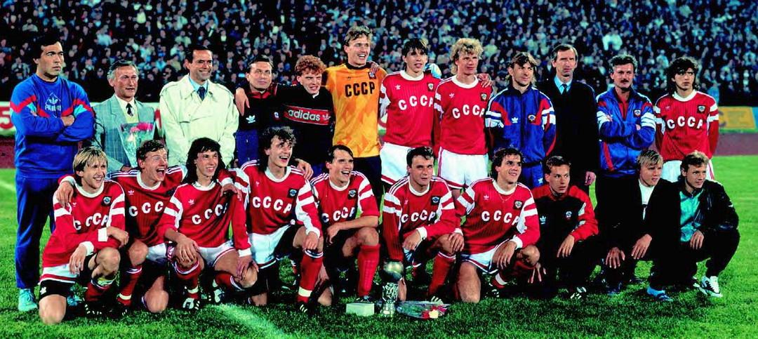 Молодежная сборная СССР по футболу 1990 год