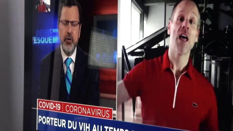 Censure à TVA Denis Levesques coupe l entrevue de Bernard Lachance qui exposait la fraude VIH=Sida