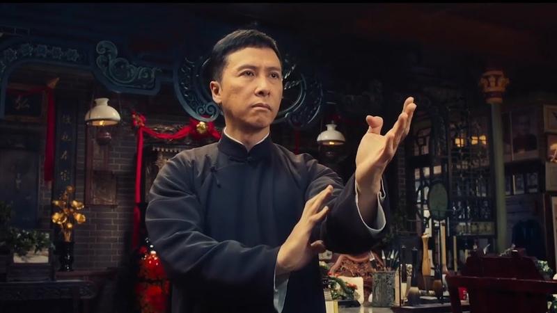 In Ip Man 4 Donnie Yen's Wing Chun vs the Grandmaster's Wooden Dummy Interview Ip Chun Wilson Yip