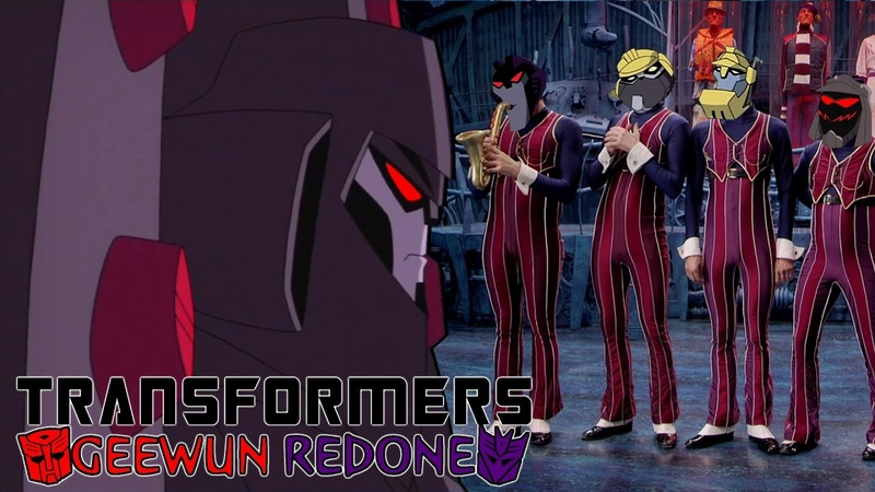 We Are Number One but instead it's We're Decepticons Transformers Geewun Redone