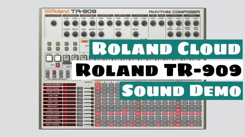 Roland Cloud TR-909 Rhythm Composer Plugin - Sound Demo (No Talking) | SYNTH ANATOMY