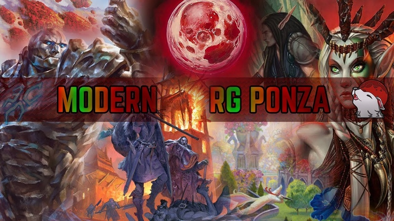 💥 Modern RG Ponza 🔴🟢 Pillage the Lands Karn Lattice Network Blood Braids and Rabbles Rejoice