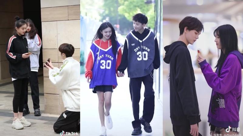 抖音 Cutes And Sweet Couples Fashion On The Streets Cẩu Lương Đáng Yêu 2 Larangehia TV