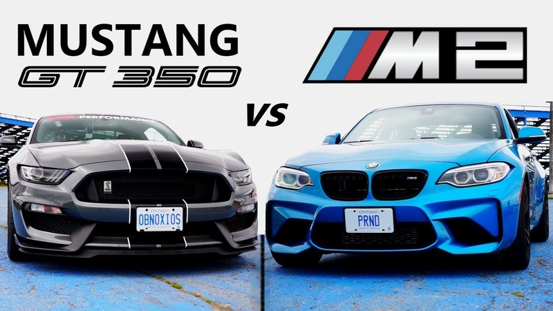 Ford Mustang Shelby GT350 VS BMW M2 TRACK REVIEW One Track Mind Ep. 4