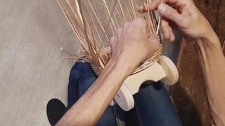 Плетение коляски BONIA часть 3