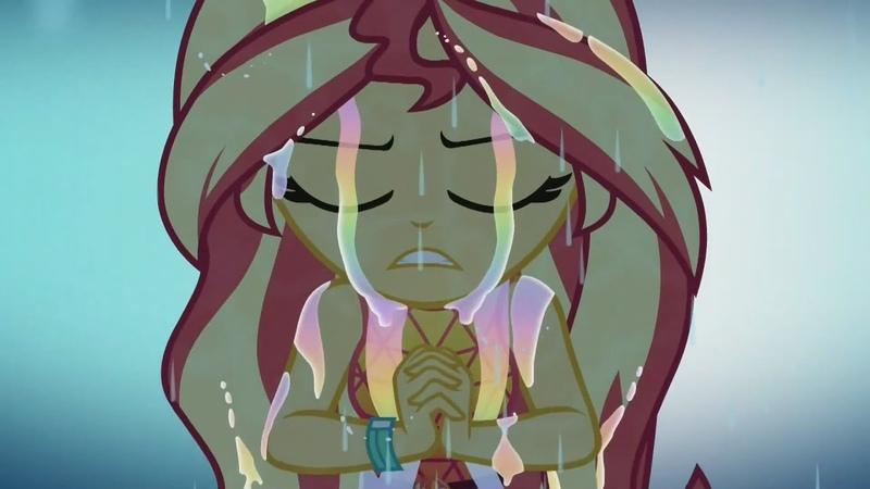 My Little Pony EQG: let it Rain - Sunset Shimmer [MV]