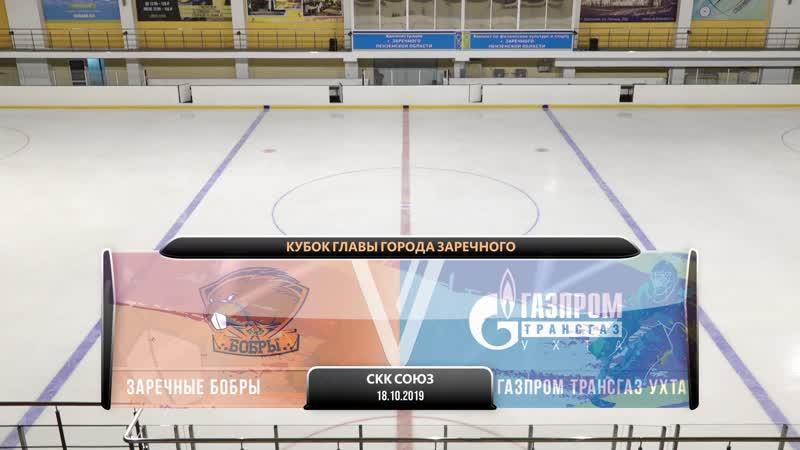Матч открытия Кубка главы города Заречного. Заречные Бобры - Газпром Трансгаз Ухта.