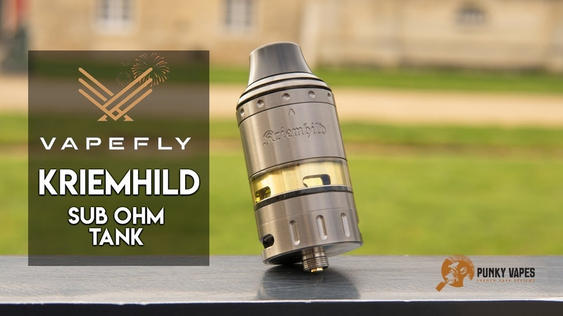 Kriemhild Sub Ohm Tank par Vapefly la Team German 103 - Revue Fr