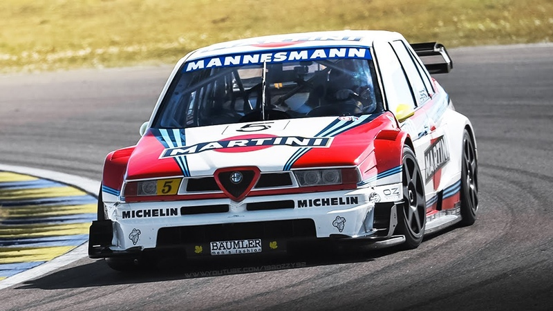 1996 Alfa Romeo 155 V6 ex-Larini Warm Up, OnBoard and High Revving 2.5 V6 Sound!