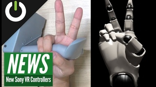 Prototype PlayStation Next-Gen VR Controllers With Finger-Tracking!